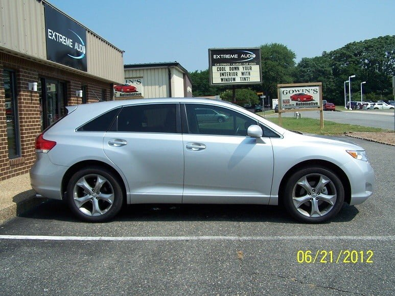 2011 toyota venza tint richmond mechanicsville virginia. Black Bedroom Furniture Sets. Home Design Ideas