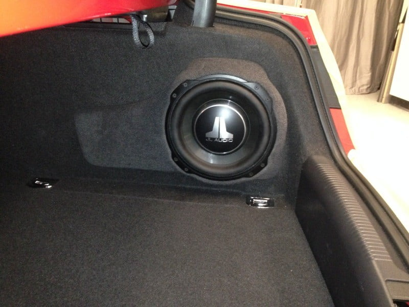 Audi RS5 Gets Custom Subwoofer Upgrade for Mechanicsville Client