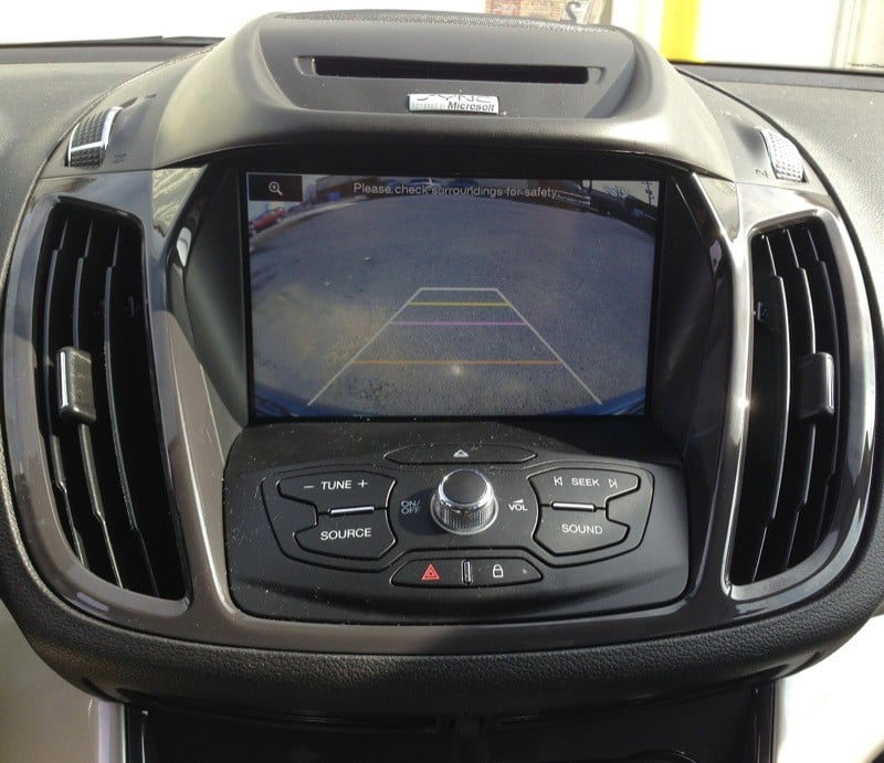 Ford Escape Backup Camera >> Ford Escape Backup Camera Solution Integrated With Sync System