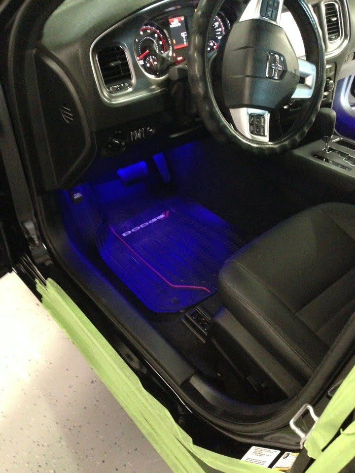 Dodge Charger Interior Lighting Project Spices Up Already