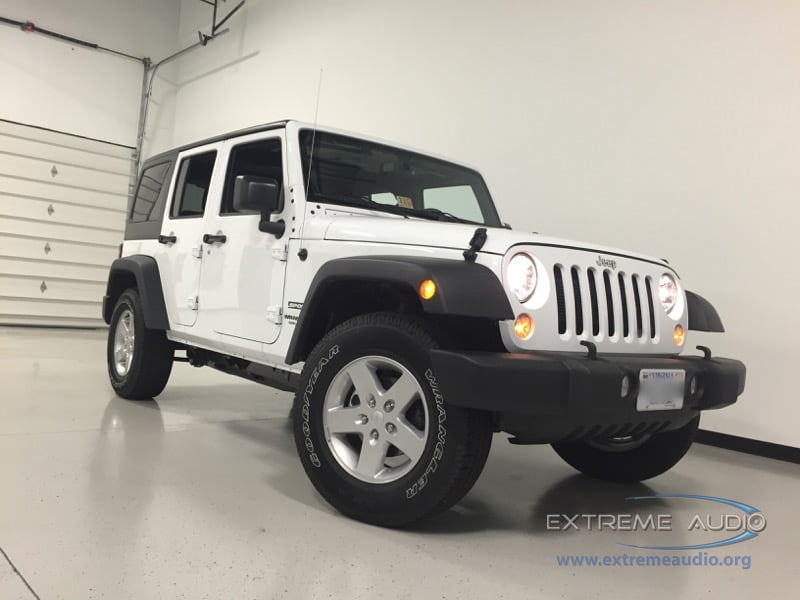 Backup Camera Add-on to 2016 Jeep Wrangler Sport Unlimited