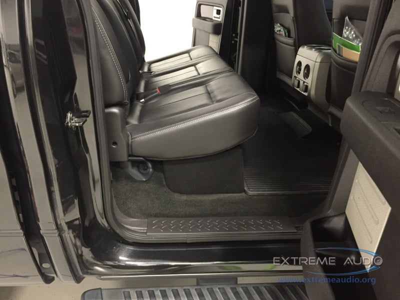 Stealthly Ford F150 Stereo System For Midlothian Client