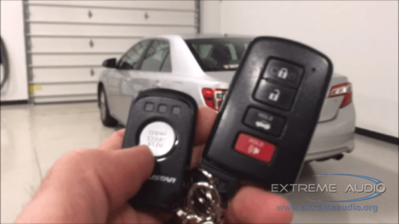 Chesterfield Client Gives Remote Start Gift For Toyota Camry