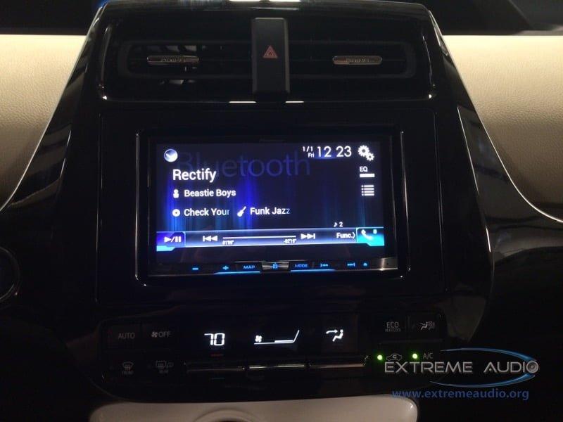2016 Toyota Prius Radio Upgrade for Richmond Client