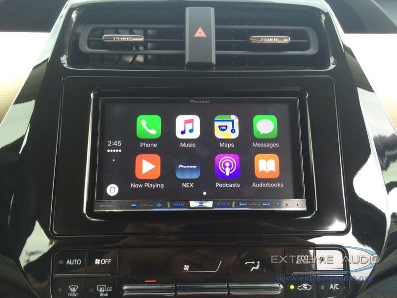 2015 prius audio system
