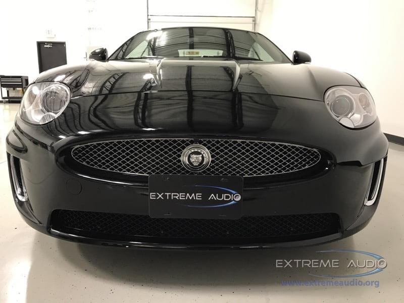Midlothian Client Adds Jaguar XK Backup Camera for Enhanced Safety