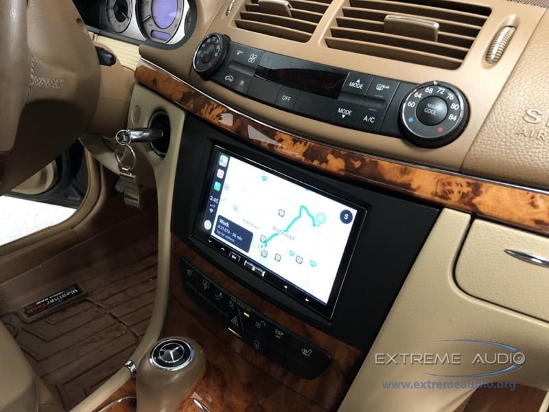 Chester Client Adds 2008 Mercedes E350 Apple CarPlay