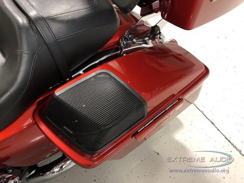 Harley-Davidson Road Glide Audio Upgrade for Richmond Client