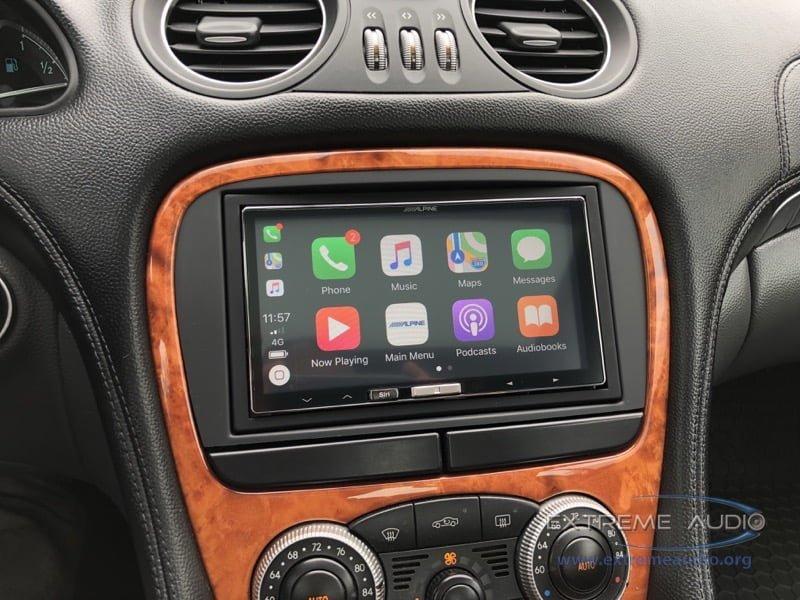 Chesterfield Client Gets Mercedes-Benz SL500 Apple CarPlay Radio